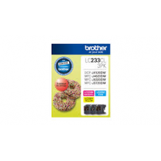 Brother LC233CL3PK CMY Colour Ink Cartridges (Triple Pack)