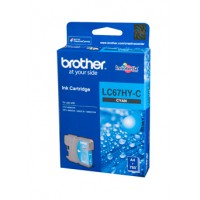 Brother LC67HYC Cyan High Yield Ink Cartridge