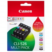 Canon CLI526MULTIPK Value Pack Ink Cartridge (4 Inks)