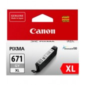 Canon CLI671XLGY Grey High Yield Ink Cartridge