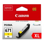 Canon CLI671XLY Yellow High Yield Ink Cartridge