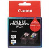Canon PG640 & CL641 Combo Pack Ink Cartridges