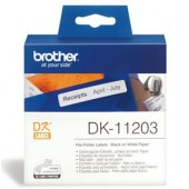 Brother DK11203 400 Multi-Purpose Address Labels 17mm x 87mm