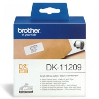 Brother DK11209 800 Small Address Labels 29mm x 62mm