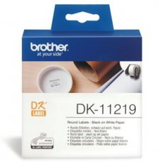 Brother P-Touch Round Labels 12mm Roll 1200