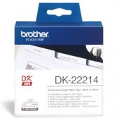 Brother DK22214 Continuous Length Paper Label Tape 12mm x 30.48m