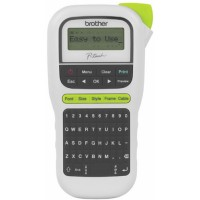 Brother PTH110 Durable P-Touch White Label Printer