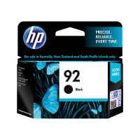 HP 92 Black Ink Cartridge