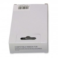Compatible Icon Epson Ribbon Black/Red ERC30/34/38