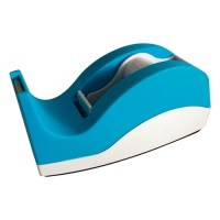 Dixon Tape Dispenser Blue And White Small 33m