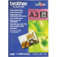 Brother BP60MA3 A3 Matte Inkjet Paper 145GSM 25 Sheets