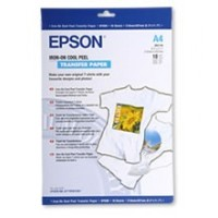 Epson A4 Iron-On Transfer Cool Peel Paper Pkt 10