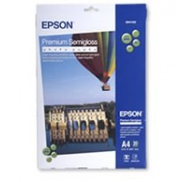 Epson A4 251gsm Premium Semigloss Photo Paper Pkt 20