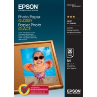 Epson A4 Photo Paper Glossy - 20 Sheets 200gsm