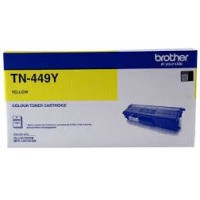 Brother TN449Y Ultra High Capacity Yellow Toner Cartridge