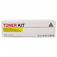 Compatible Icon Oki 43865725 Yellow Toner Cartridge (C5850/C5950)