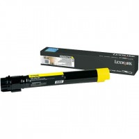 Lexmark X950X2 Yellow Extra High Yield Laser Toner Cartridge