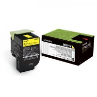 Lexmark 808HY High Yield Toner - Yellow