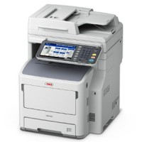 OKI MB770dfnfax 52ppm Mono Laser MFC Printer