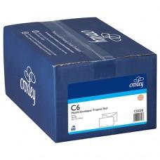 CROXLEY ENVELOPE C6 MANILLA TROPICAL SEAL BANKER BOX 500
