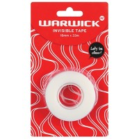 WARWICK INVISIBLE TAPE 18MMX33M