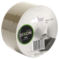 DIXON TAPE PACKAGING TAN 48MMX50M
