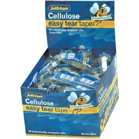 SELLOTAPE CLEAR REFILL 15MM X10M